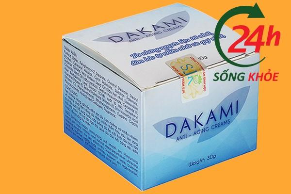 Hướng dẫn phân biệt kem Dakami giả và thật