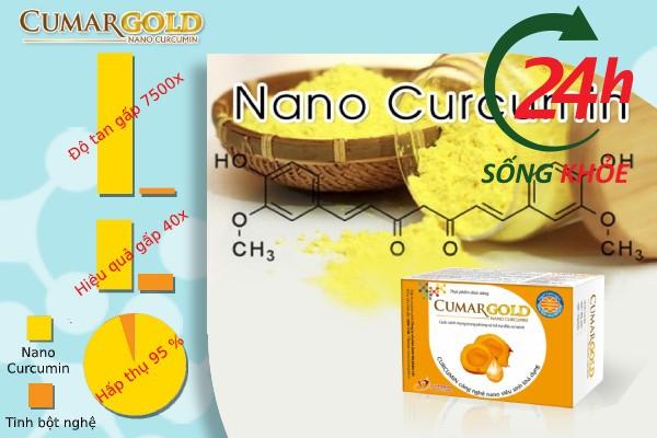 Nano Curcumin là thành phần chủ yếu của CumarGold