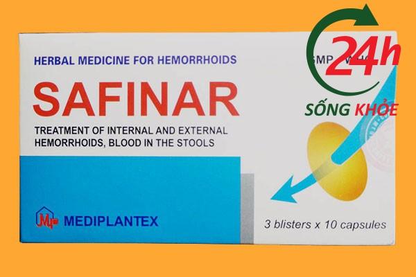 Thuốc chữa bệnh trĩ tại nhà Safinar