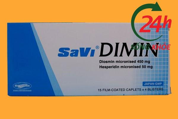 Savi Dimin 500mg là thuốc gì?