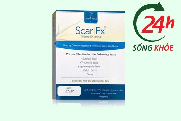 Hình ảnh: Miếng dán trị sẹo Scar Fx