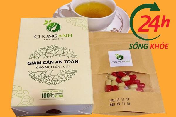 trà giảm cân Cường Anh
