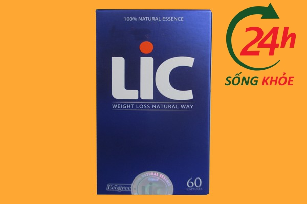 viên uống LIC là thuốc gì?
