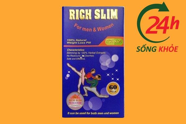Thuốc giảm cân Rich Slim của Mỹ - Thuốc giảm cân hiệu quả