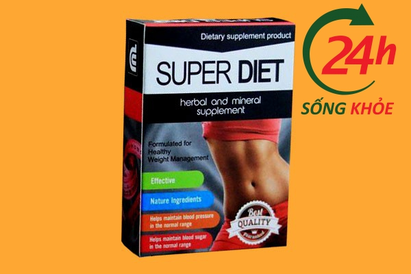 Thuốc giảm cân Super Diet Thái Lan - Thuốc giảm cân cấp tốc
