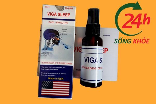 Thuốc ngủ dạng xịt ngửi Viga Sleep