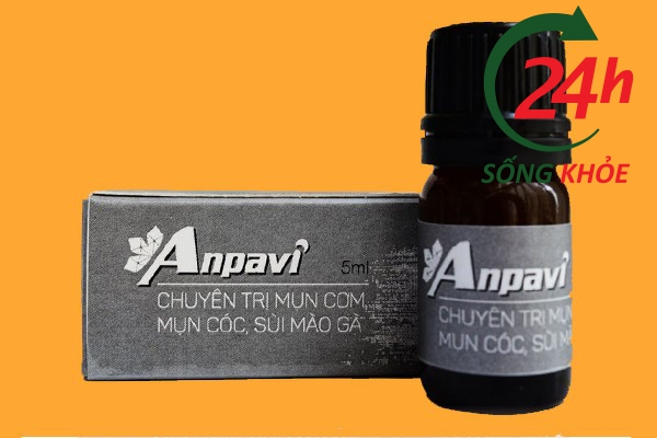 Thuốc trị mụn cóc gia truyền Anpavi