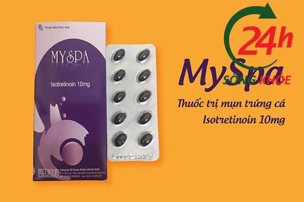 Thuốc trị mụn trứng cá Myspa