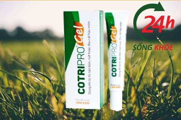 Thành phần của Contripro Gel triết xuất từ tự nhiên