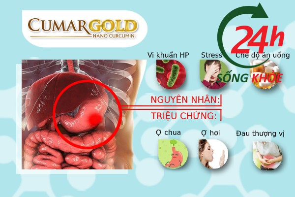 Viêm loét dạ dày tá tràng là căn bệnh phổ biến