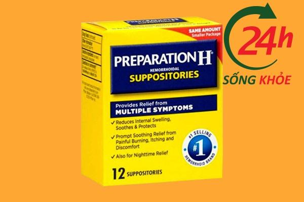 Thuốc nhét trĩ Preparation H