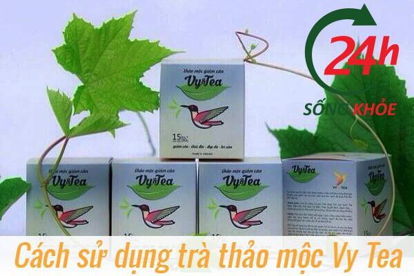 Trà hỗ trợ giảm cân Vy Tea