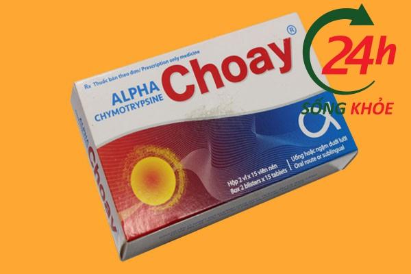 Tương tác thuốc đối với Alpha choay
