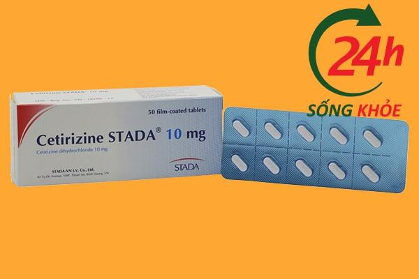 Cetirizin 10mg là thuốc gì?