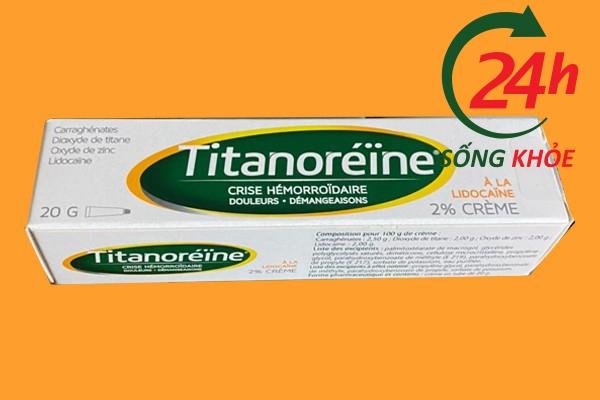 Kem bôi trĩ Titanoreine có lừa đảo không?