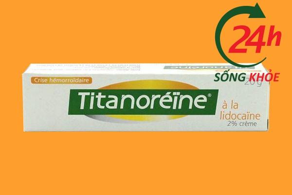 Titanoreine có hại không?