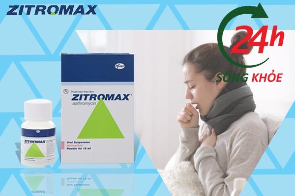 Zithromax được sử dụng chủ yếu để điều trị viêm đường hô hấp