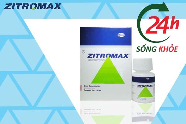 Zithromax là thuốc kháng sinh được chỉ định để điều trị nhiễm khuẩn