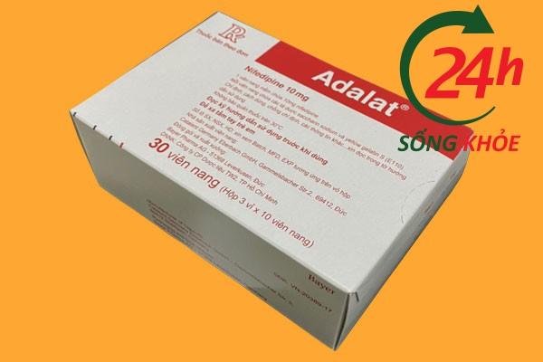 Tác dụng của Adalat 10mg