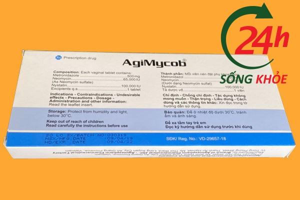 Công dụng - Chỉ định khi sử dụng AgiMyCob 500