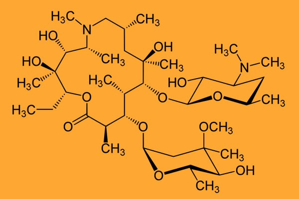 Tính chất dược lý của Azithromycin Thuocbietduoc