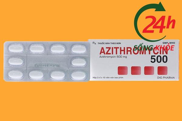 Thuốc Azithromycin là thuốc gì?