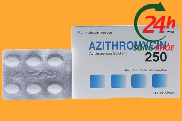 Thuốc Azithromycin 250mg giá bao nhiêu?