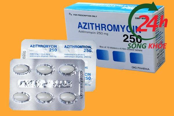 Thuốc Azithromycin 250mg là thuốc gì?