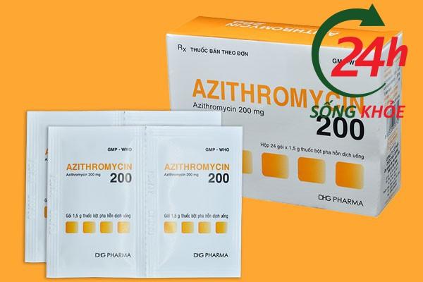 Thuốc Azithromycin 200mg