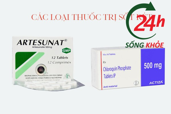 Các loại thuốc trị sốt rét khác cũng ảnh hưởng đến Plaquenil 200mg