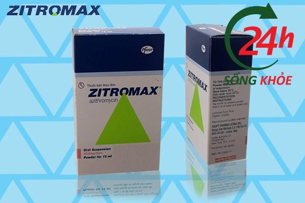 Các thuốc khác có thể gây tương tác với Zithromax