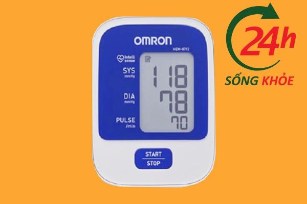 Vai trò của máy đo huyết áp Omron