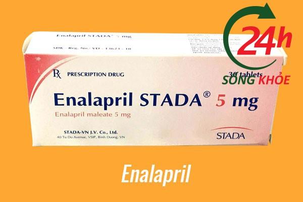 Thuốc điều trị tăng huyết áp: Enalapril