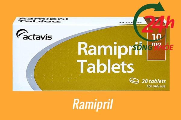 Thuốc điều trị tăng huyết áp: Ramipril