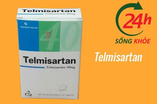Thuốc điều trị tăng huyết áp: Telmisartan