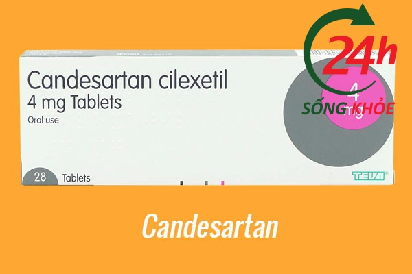 Thuốc điều trị tăng huyết áp: Candesartan