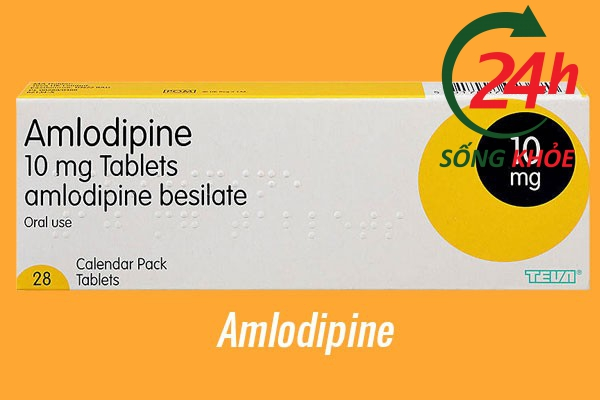 Thuốc điều trị tăng huyết áp: Amlodipine