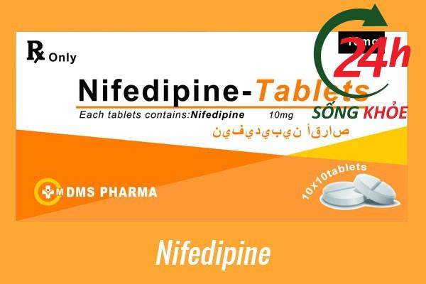 Thuốc điều trị tăng huyết áp: Nifedipine