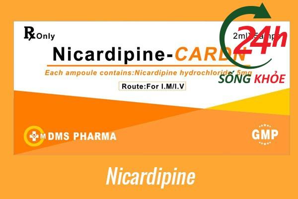 Thuốc điều trị tăng huyết áp: Nicardipine