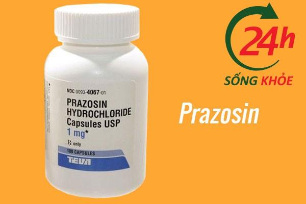Thuốc điều trị tăng huyết áp: Prazosin