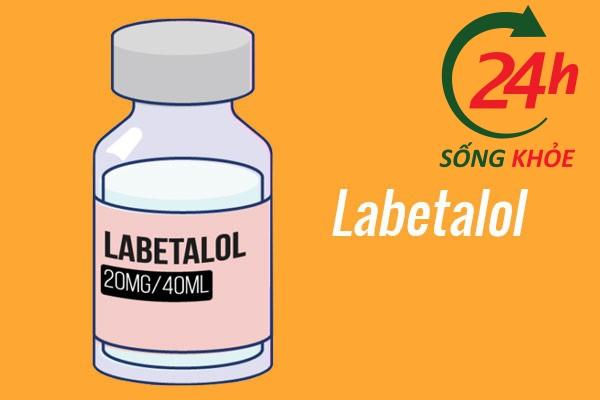 Thuốc điều trị tăng huyết áp: Labetalol