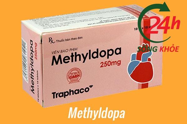 Thuốc điều trị tăng huyết áp: Methyldopa