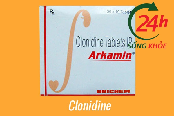 Thuốc điều trị tăng huyết áp: Clonidine