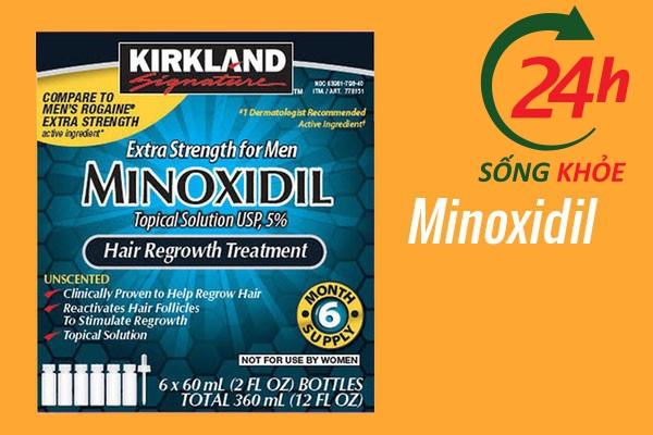 Thuốc điều trị tăng huyết áp: Minoxidil