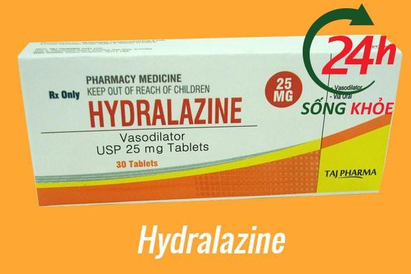Thuốc điều trị tăng huyết áp: Hydralazine
