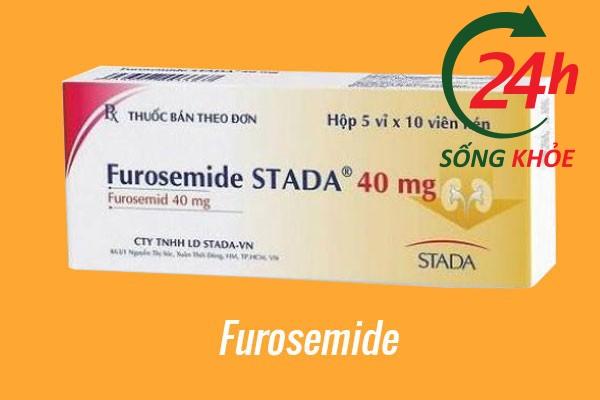 Thuốc điều trị tăng huyết áp: Furosemide