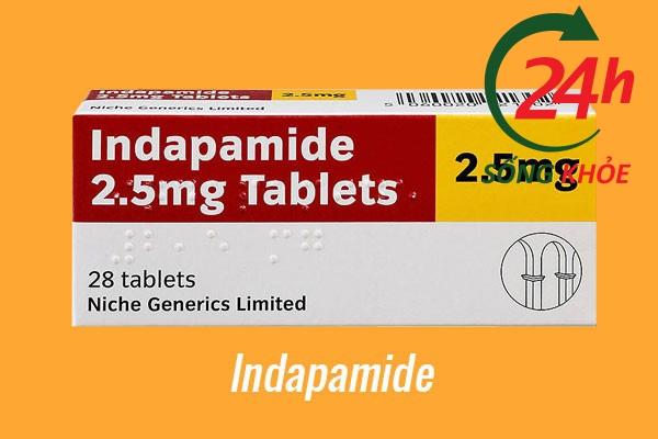 Thuốc điều trị tăng huyết áp: Indapamide