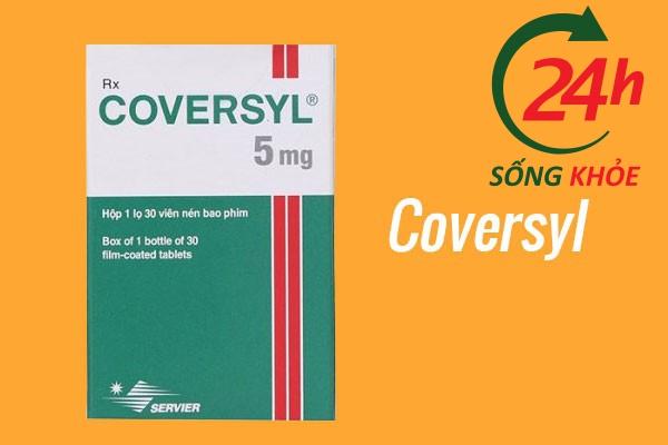 Thuốc điều trị tăng huyết áp: Coversyl