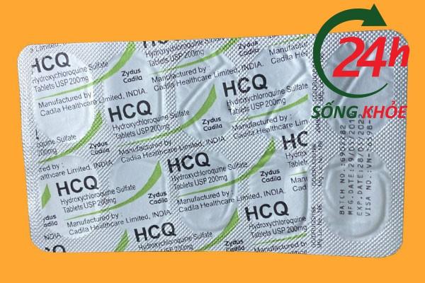 Thuốc HCQ 200mg (HydroxyCloroquine) là thuốc gì?