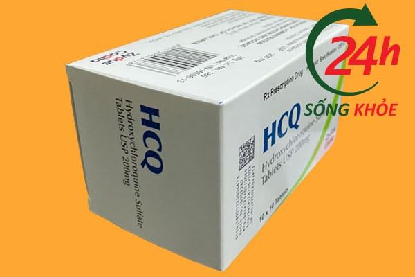 Tác dụng phụ của thuốc HCQ 200mg